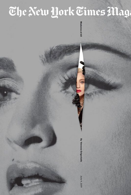 MADONNA in The New York Times Magazine, June 2019
