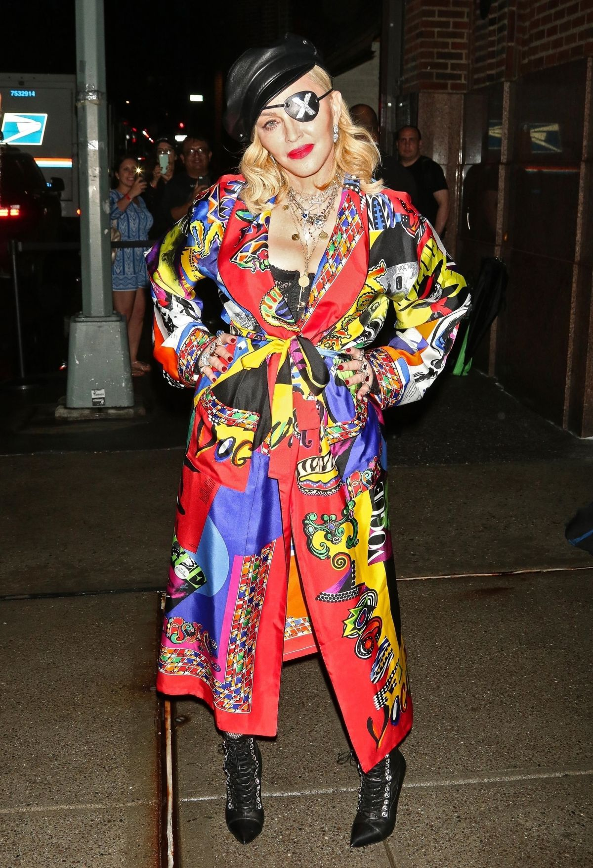 Madonna Promotes Her Madame X Album In New York 06 20 2019 Hawtcelebs