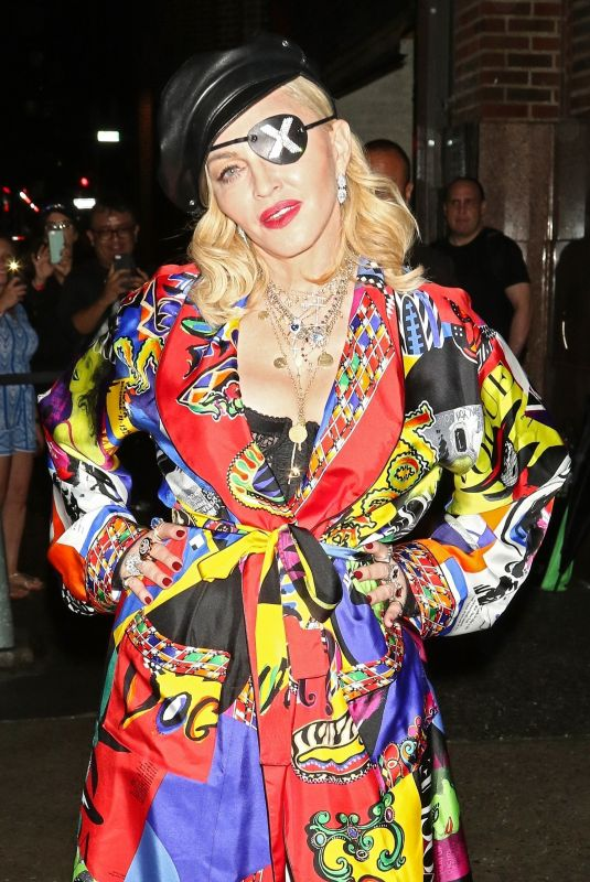 MADONNA Promotes Her Madame X Album in New York 06/20/2019