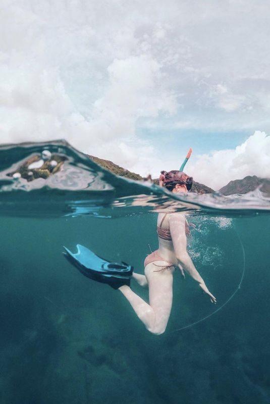 MAISIE WILLIAMS in Bikini in Seychelles – Instagram Picture 06/27/2019