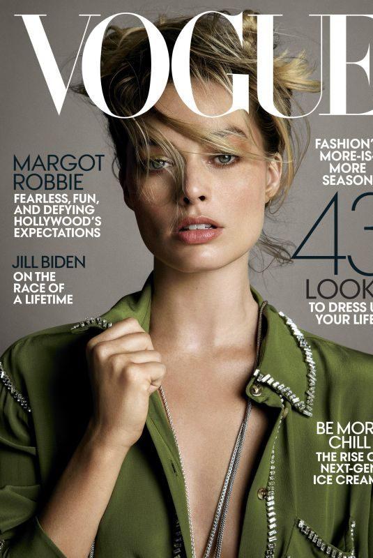 MARGOT ROBBIE for Vogue Magazine, July 2019