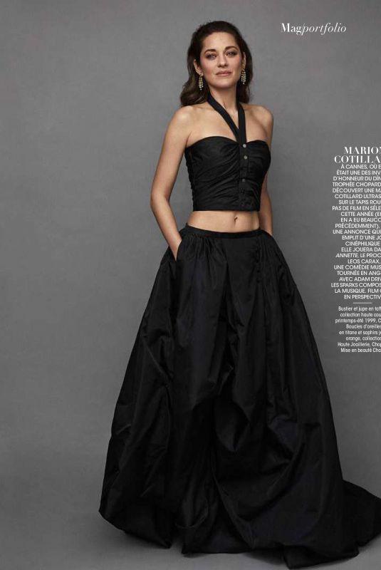 MARION COTILLARD in Madame Figaro Magazine, June 2019