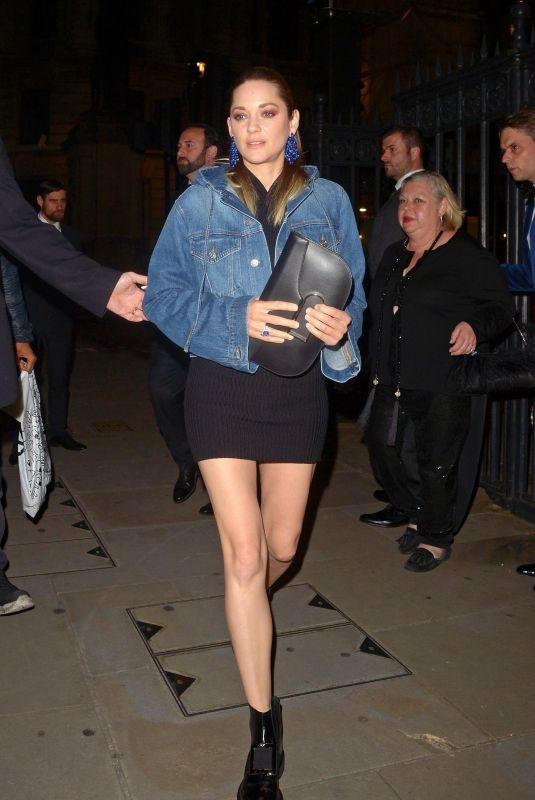 MARION COTILLARD Night Out in London 06/17/2019