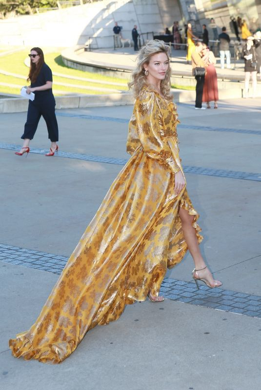 MARTHA HUNT Arrives at CFDA Fashion Awards in New York 06/03/2019