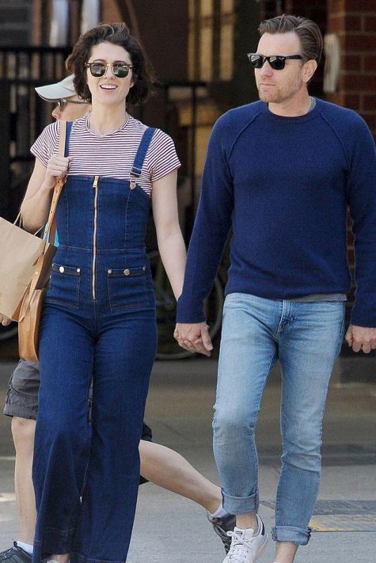 MARY ELIZABETH WINSTEAD and Ewan McGregor Out in Los Angeles 06/04/2019