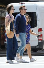 MARY ELIZABETH WINSTEAD and Ewan McGregor Out in New York 06/04/2019