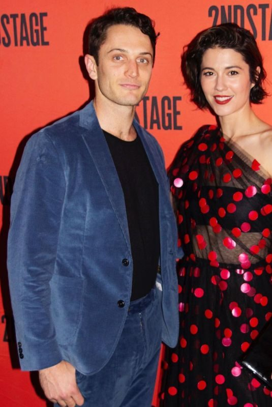 MARY ELIZABETH WINSTEAD at Dying City Opening Night at 2ndstage Theater in New York 06/03/2019