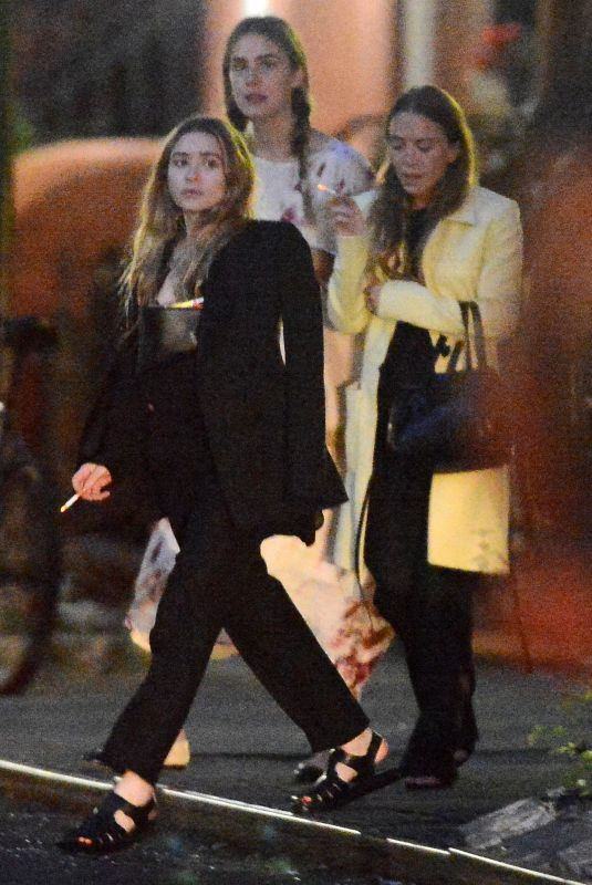 MARY KATE and ASHLEY OLSEN Night Out in New York 06/06/2019