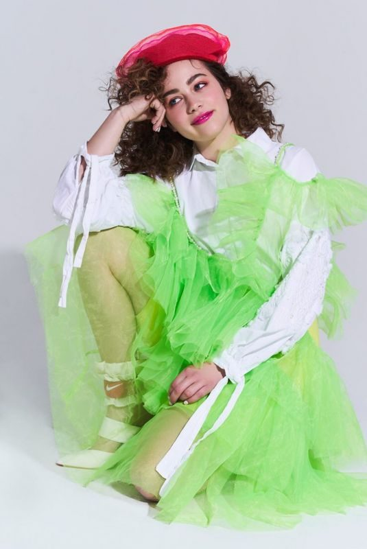 MARY MOUSER at a Photoshoot, May 2019