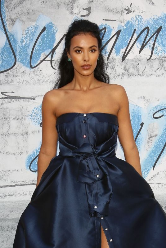 MAYA JAMA at Serpentine Gallery Summer Party in London 06/25/2019