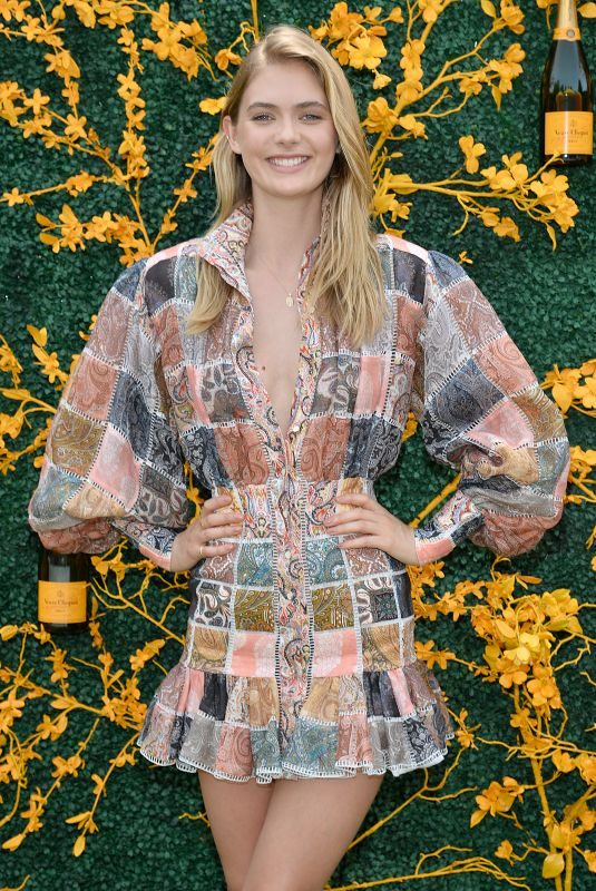 MEGAN WILLIAMS at 2019 Veuve Clicquot Polo Classic in Jersey City 06/01/2019