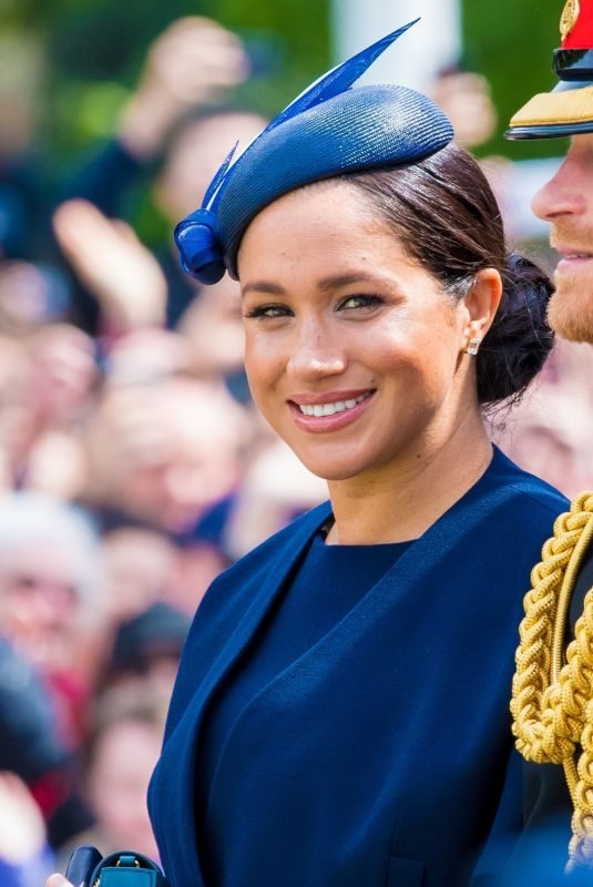 MEGHAN MARKLE at Trooping the Colour Ceremony in London 06/08/2019