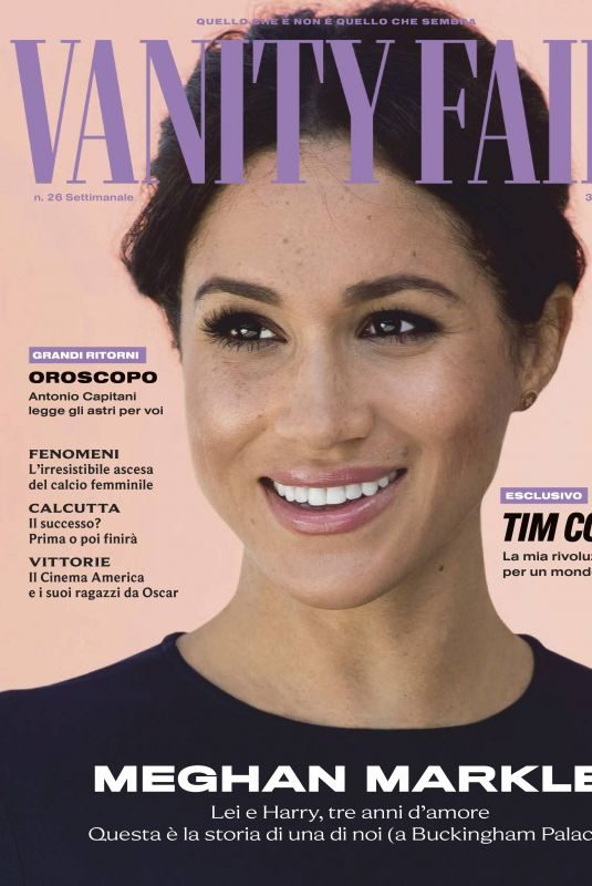 MEGHAN MARKLE in Vanity Fair Magazine, Italy July 2019