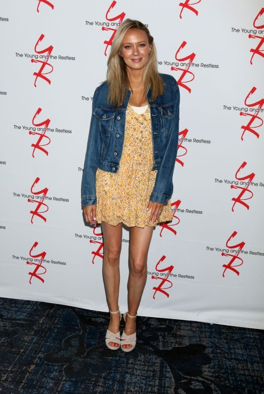 MELISSA ORDWAY at Young and the Restless Fan Club Luncheon in Burbank 06/23/2019