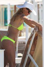 MICHELLE HUNZIKER in Bikini in Forte Dei Marmi 06/18/2019