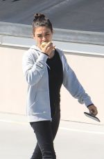 MILA KUNIS Out and About in Beverly Hills 06/27/2019