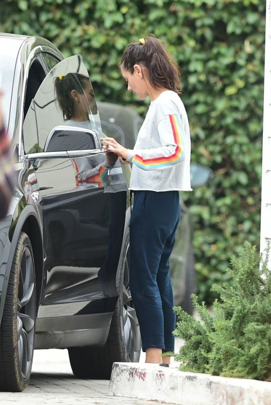 MILA KUNIS Out and About in Los Angeles 06/20/2019