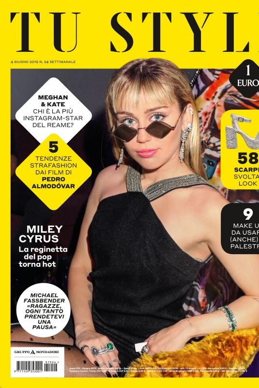 MILEY CYRUS in Tu Style Magazine, June 2019