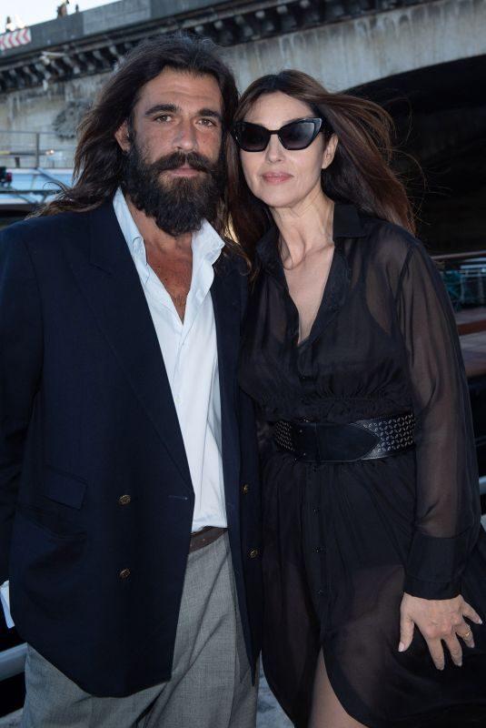 MONICA BELLUCCI and Nicolas Lefebvre at Maud Fontenoy Foundation Gala in Paris 06/07/2019