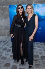 MONICA BELLUCCI and Nicolas Lefebvre at Maud Fontenoy Foundation Gala in Paris 06/07/2019
