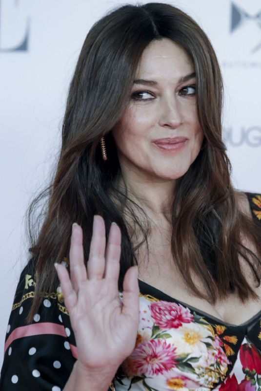 MONICA BELLUCCI at Solidarity Gala Dinner for Cris Foundation Against Cancer in Madrid 05/30/2019
