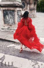 NAOMI SCOTT in Elle Magazine, India June 2019