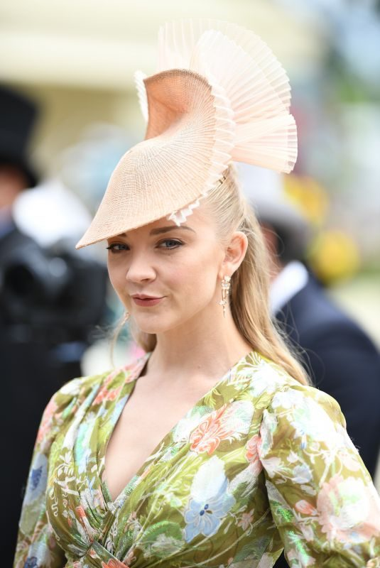 NATALIE DORMER at Ladies Day at Royal Ascot 06/20/2019