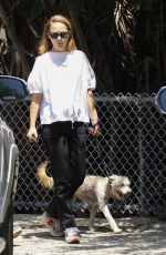 NATALIE PORTMAN Out with Her Dog at Griffith Park in Los Angeles 06/07/2019