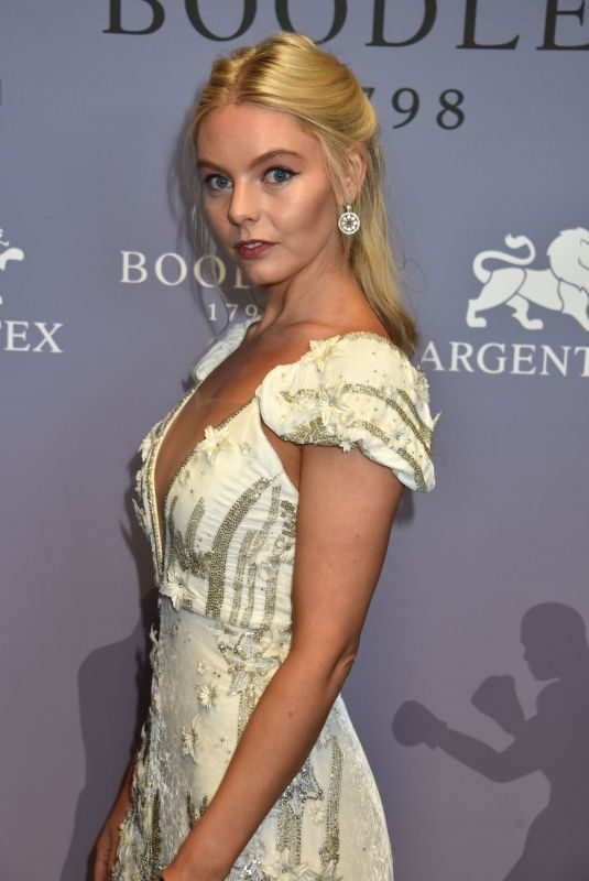 NELL HUDSON at Boodles Boxing Ball in London 06/07/2019