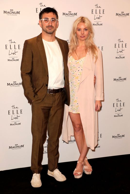 NELL HUDSON at Elle List in Association with Magnum Ice Cream in London 06/19/2019