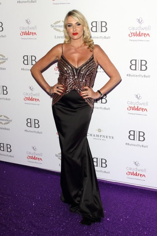 NELL MCANDREW at Caudwell Children Butterfly Ball in London 06/13/2019