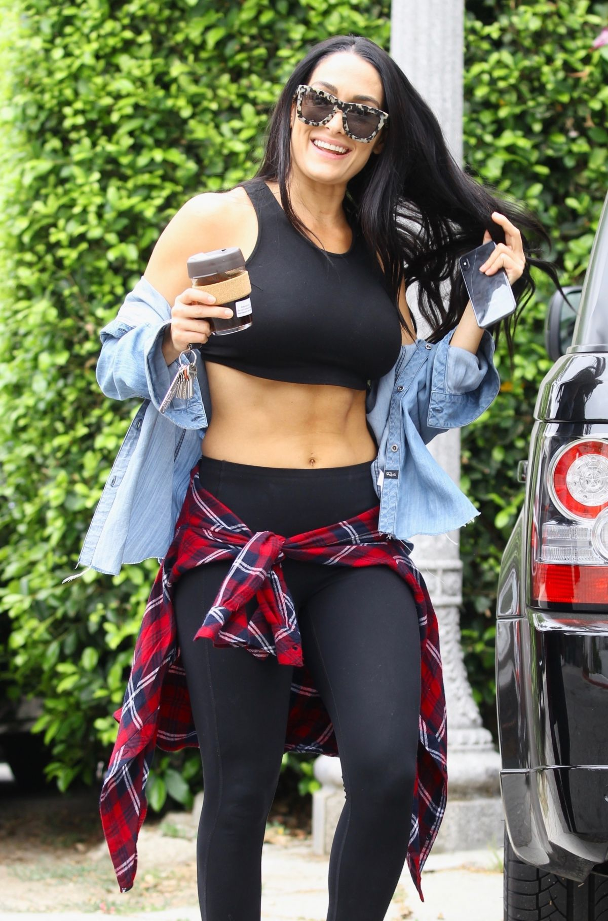 NIKKI BELLA Out and About in Studio City 06/20/2019 ...