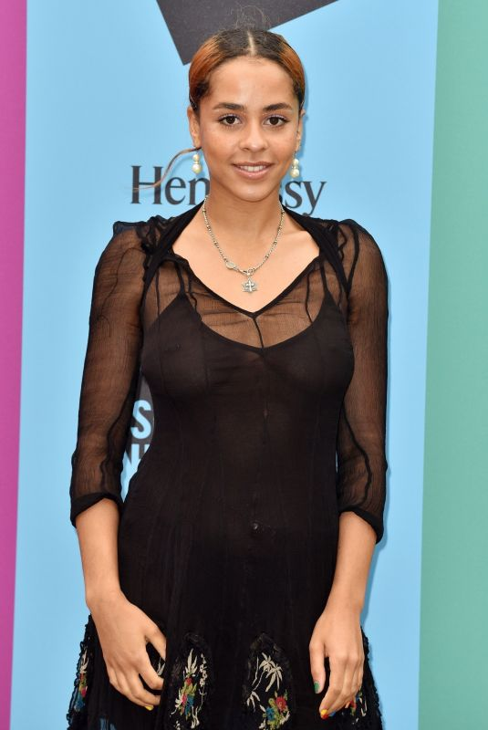 OLIVE GRAY at Hennessy for the Culture Exhibition Launch in London 06/11/2019