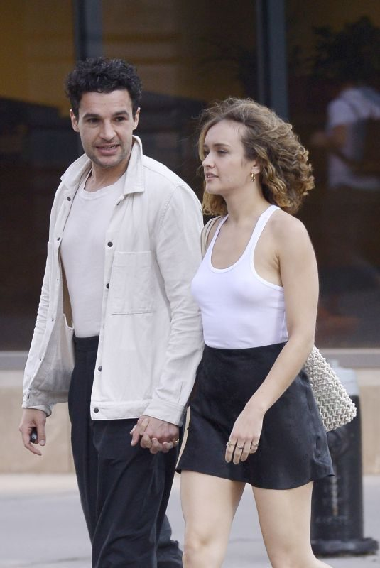 OLIVIA COOKE and Christopher Abbott at Il Buco in New York 06/23/2019