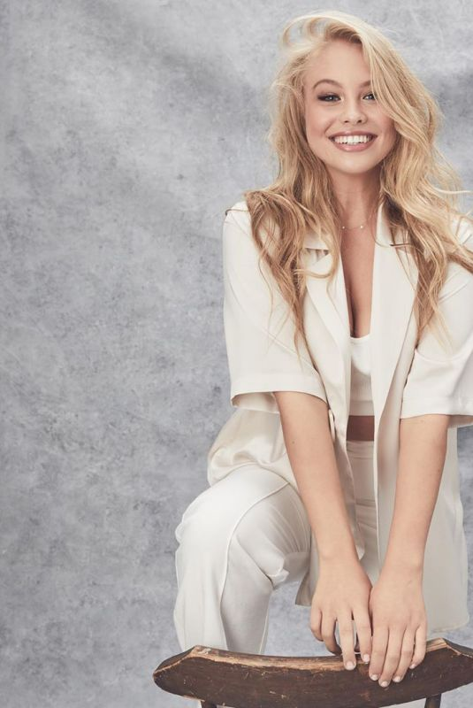 OLIVIA DEEBLE at a Photoshoot, June 2019