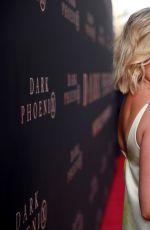 OLIVIA HOLT at Dark Phoenix Premiere in Hollywood 06/04/2019