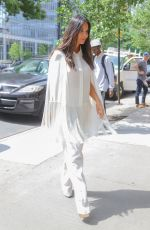 OLIVIA MUNN All in White Out in New York 06/25/2019