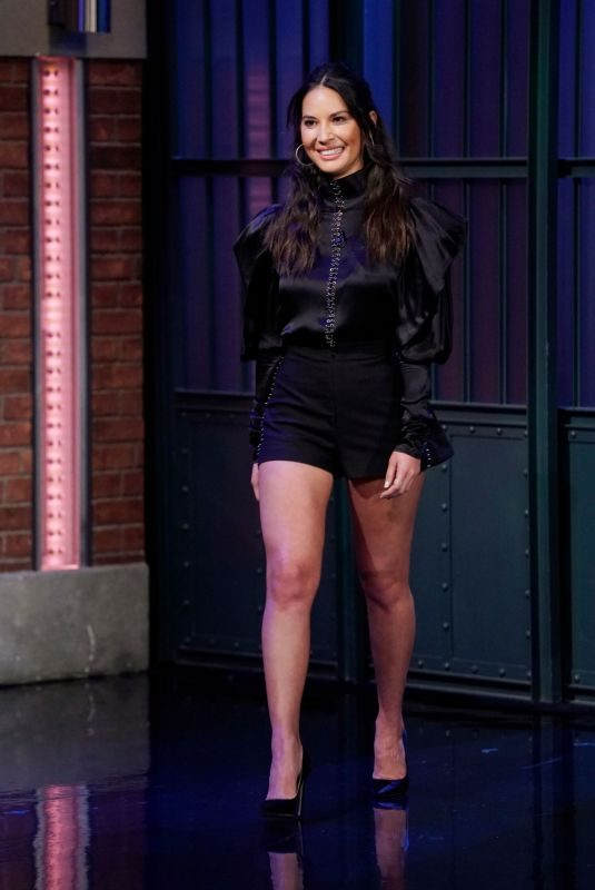 OLIVIA MUNN at Late Night with Seth Meyers in New York 06/24/2019