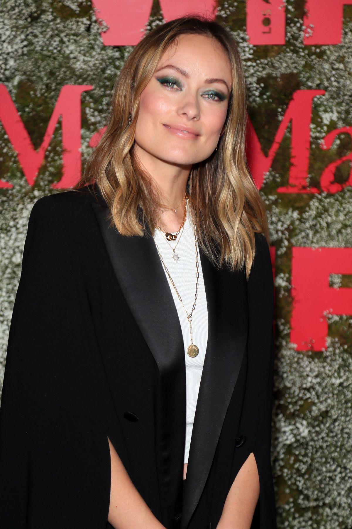 Olivia Wilde At 2019 Women In Film Max Mara Face Of The