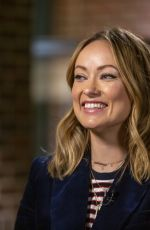 OLIVIA WILDE at Sunday Today with Willie Geist in New York 05/26/2019