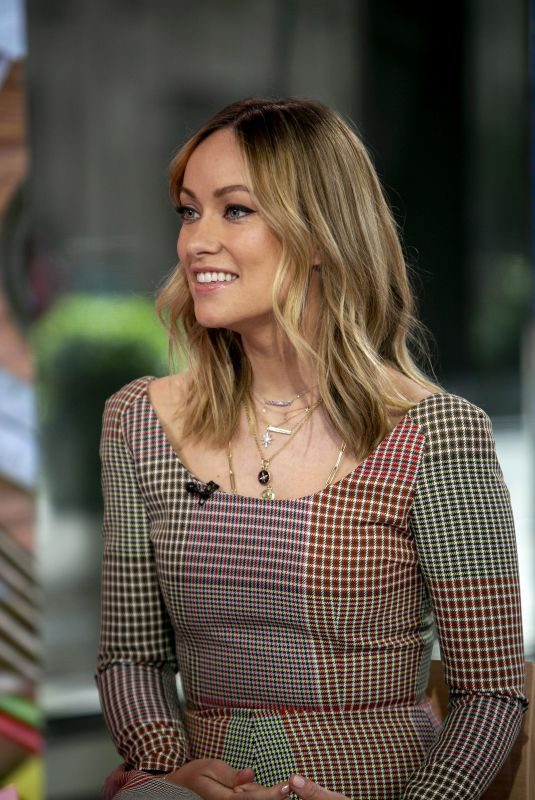 OLIVIA WILDE at Today Show in New York 05/15/2019