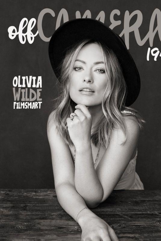 OLIVIA WILDE for Off Camera Magazine 195
