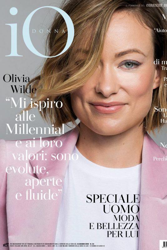 OLIVIA WILDE in Io Donna Del Corriere Della Sera, June 2019