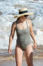 OLIVIA WILDE in Swimsuit at a Beach in Hawaii 06/16/2019