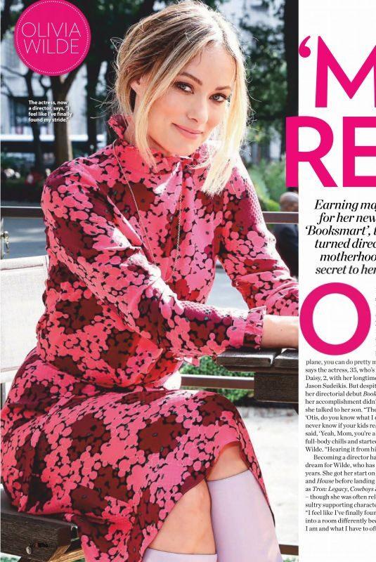 OLIVIA WILDE in Who Magazine, June 2019