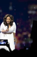 OPRAH WINFREY at Her Your Path Made Clear Tour in Calgary 06/19/2019