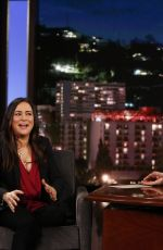 PAMELA ADLON at Jimmy Kimmel Live 06/13/2019