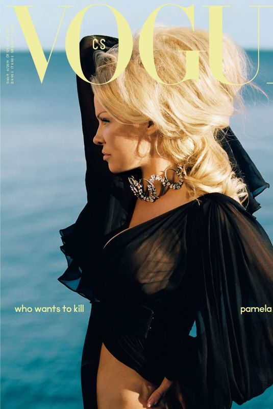PAMELA ANDERSON for Vogue Magazine, Czech Republic June 2019