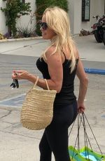 PAMELA ANDERSON Out Shopping in Los Angeles 06/27/2019