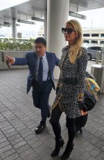 PARIS HILTON Arrives at LAX Airport in Los Angeles 06/24/2019